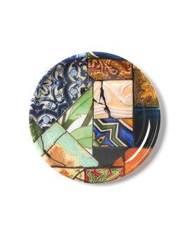 X Carlos Loron Future Reminisce Tondo plate