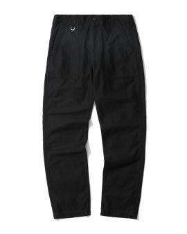 Straight cotton pants
