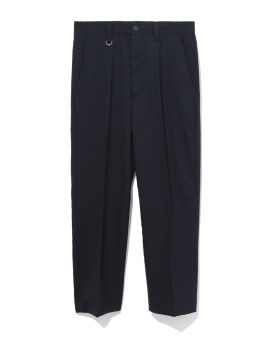 Solotex tropical wool high rise cropped pants