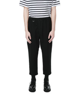 Tapered elastic waist pants