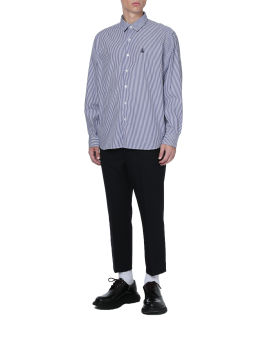 Albini big regular collar shirt