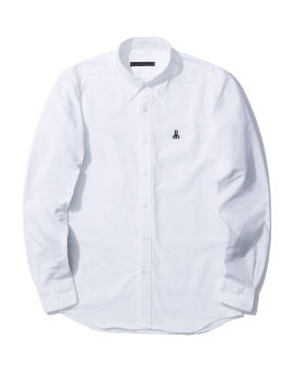 Embroidered panelled shirt