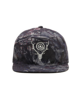 Printed snapback cap