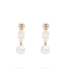 Petite tressé earrings