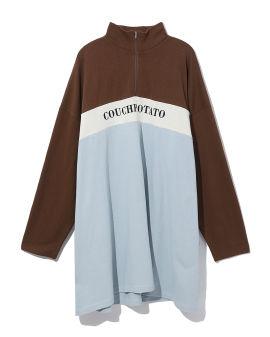 Couch Potato colour block dress