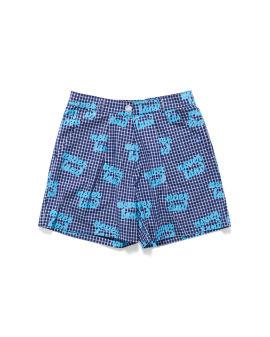 Neverland check shorts