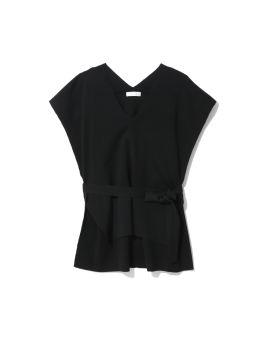 Self-tie detail vest