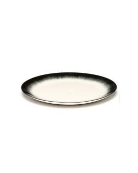 X Serax Dé porcelain plate - Var. 4