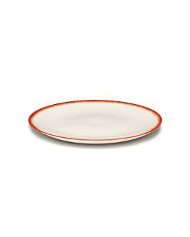 X Serax Dé porcelain plate - Var. 2