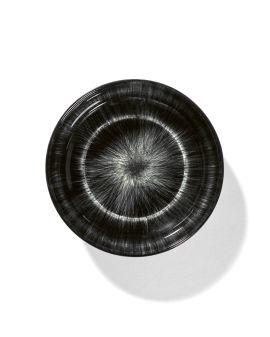 X Serax Dé porcelain high plate - Var. C