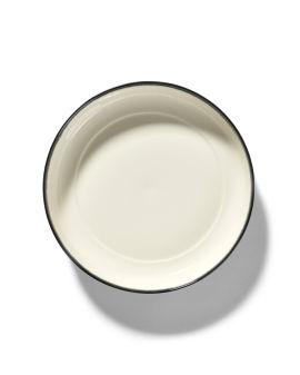 X Serax Dé porcelain high plate - Var. D
