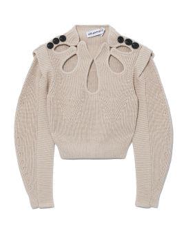 Sand knit sweater