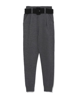 Knitted sweatpants