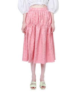 Maura dirtortion skirt