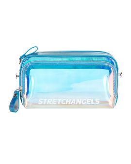 Translucent crossbody camera bag