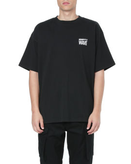 Empty wave relaxed tee