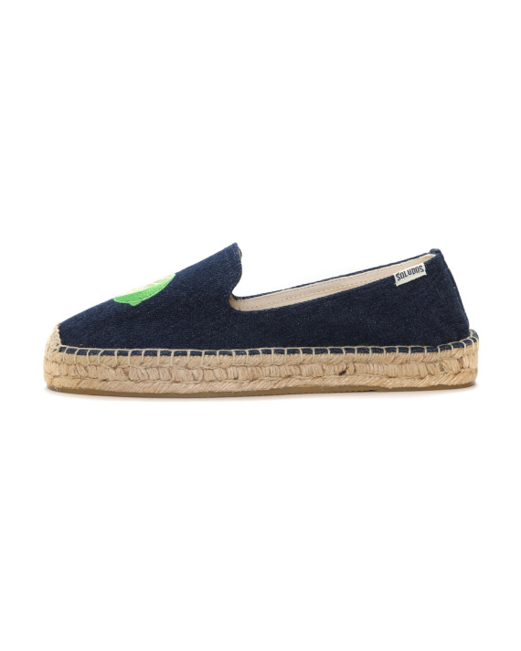 cce455f9d375 SOLUDOS Margarita embroidered mismatched espadrilles