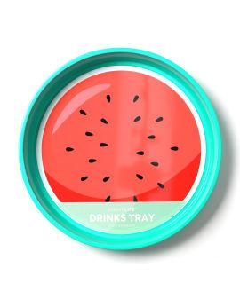 Watermelon drinks tray