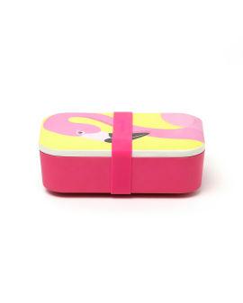 Flamingo print lunch box