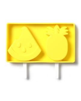 Fruits shape ice lolly tray