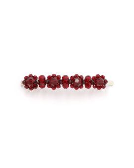 Floral beaded hair pin