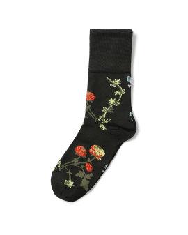Ankle jacquard socks