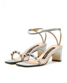 Jewel embellished sandals