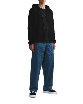 Zip-up cardigan