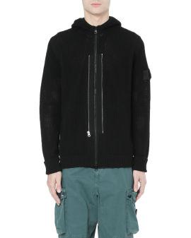 Twin zip hoodie
