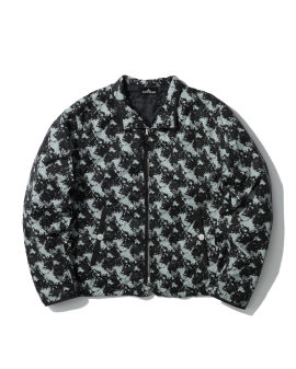 All-over printed jacket