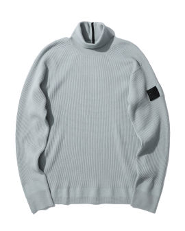 Compass patch sweater