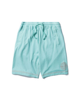 Embroidered logo shorts