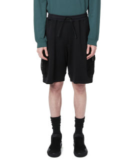 Compass badge shorts