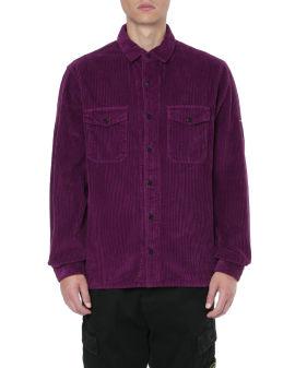 Button corduroy shirt