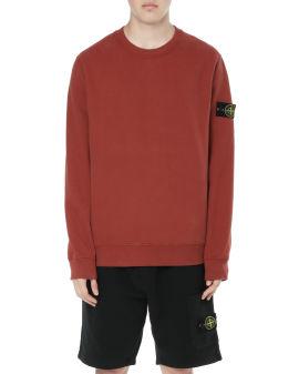Compass patch sweatshirt
