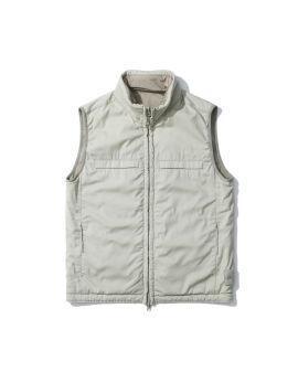 Compass badge vest jacket