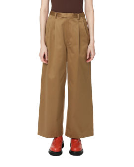 Panelled wide leg pants