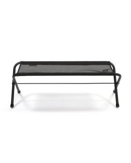 Mesh folding bench