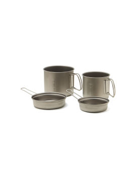 Trek Combo Titanium cookware set