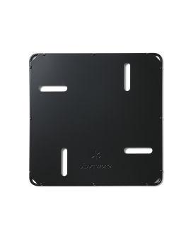 Fireplace base plate