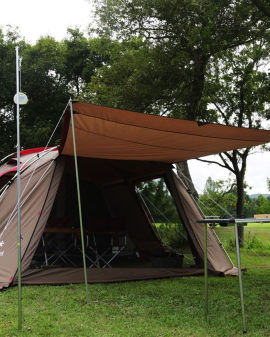 Landlock tent