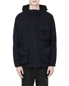 Indigo C/N Parka jacket