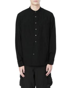 Stand-collar shirt