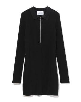 Half-zip dress