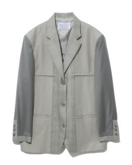 Zipper pockets blazer