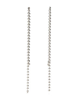 Ball chain earrings