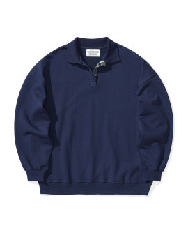 Oversized polo top