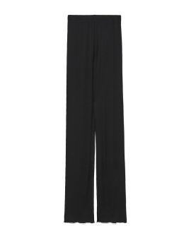 Ribbed skinny pants