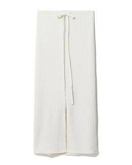 Tonal panel midi skirt