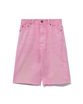 Washed shorts